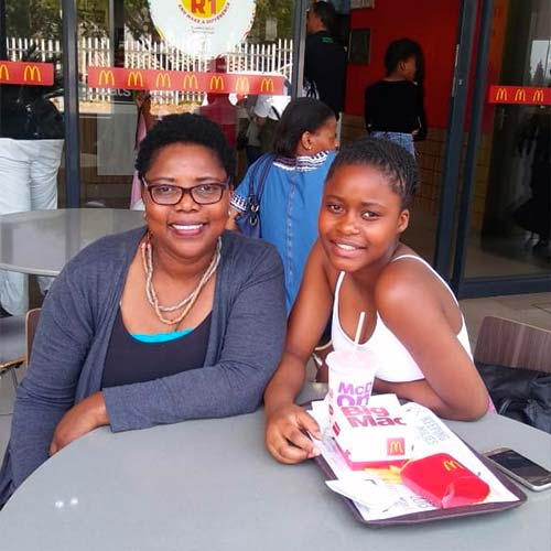 Colleen and Lesego - Mentorship